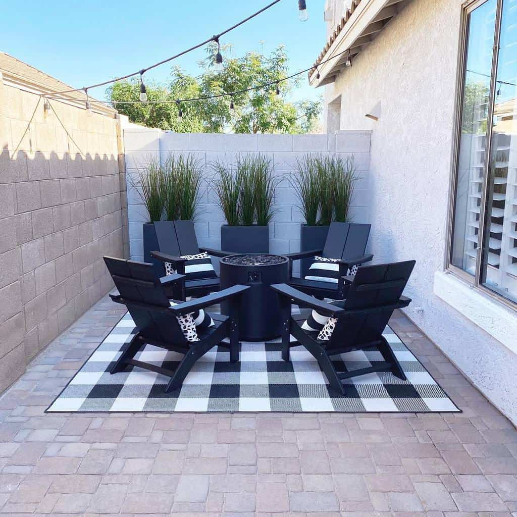 firepit small backyard patio ideas findhomesweetazhome