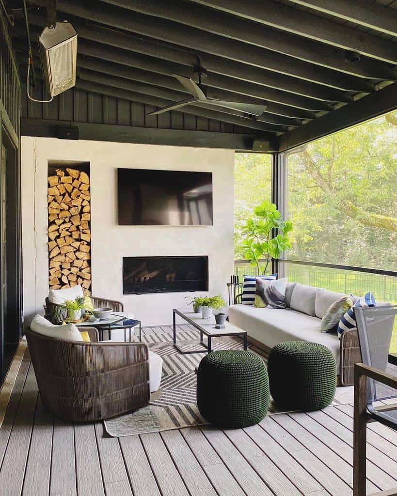 fireplace covered patio ideas jfy_designs