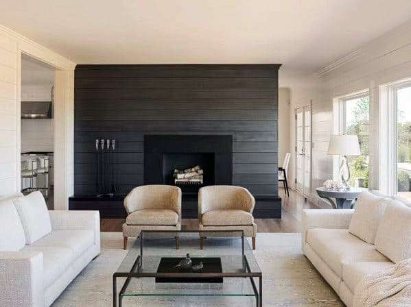Fireplace Ideas For Shiplap Wall
