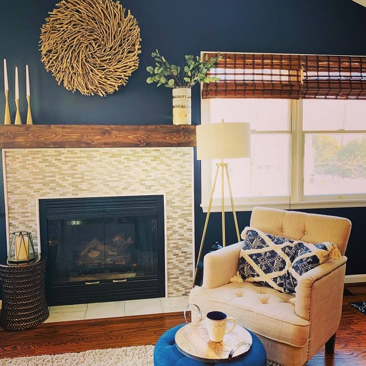 Fireplace Makeover Mantel Decor Ideas Cindyfowlisdesigns