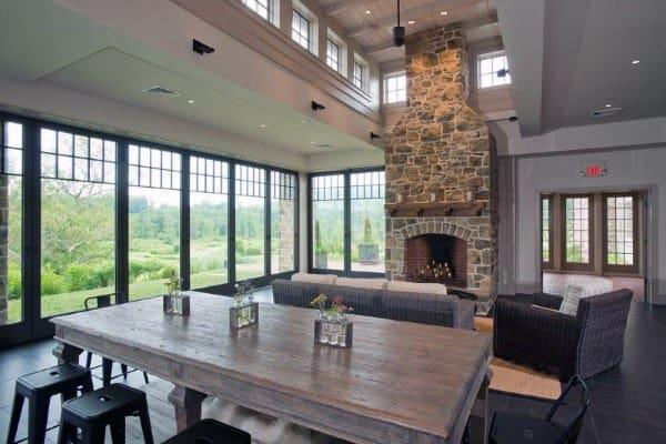 Fireplace Stone Designs Ideas
