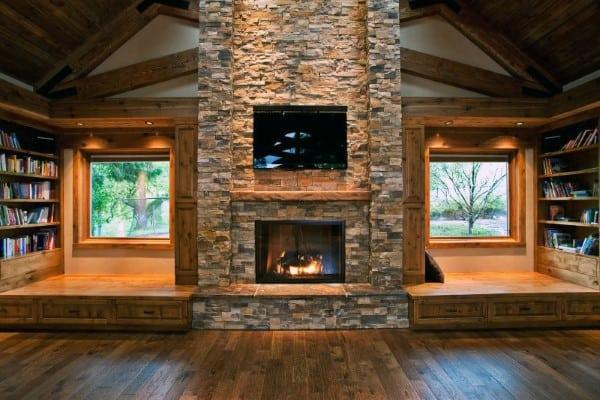 Fireplace Stones Design