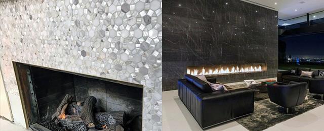 Top 60 Best Fireplace Tile Ideas – Luxury Interior Designs
