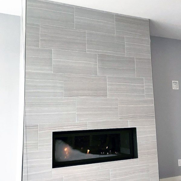 Fireplace Tile Interior Design