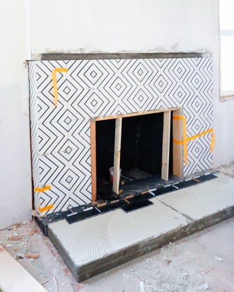 Fireplace Tile Interior Ideas