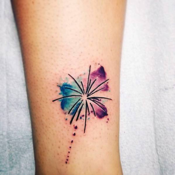Fireworks Tattoo Designs For Gentlemen