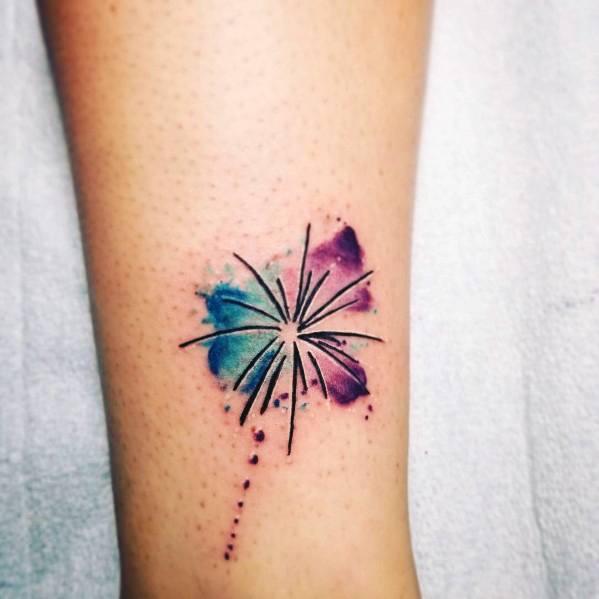70 Firework Tattoo Ideas For Men Firecracker Designs
