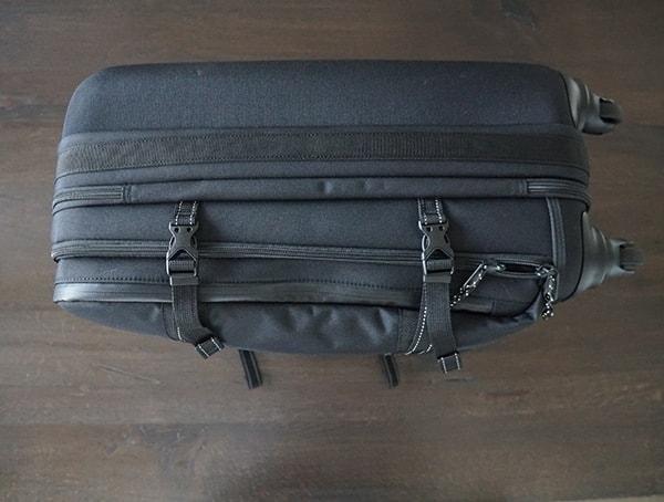 First Side Black Ogio Alpha Convoy 522s Travel Bag