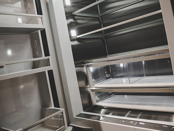 Fisher Fridge Interior 2019 Nahb Show