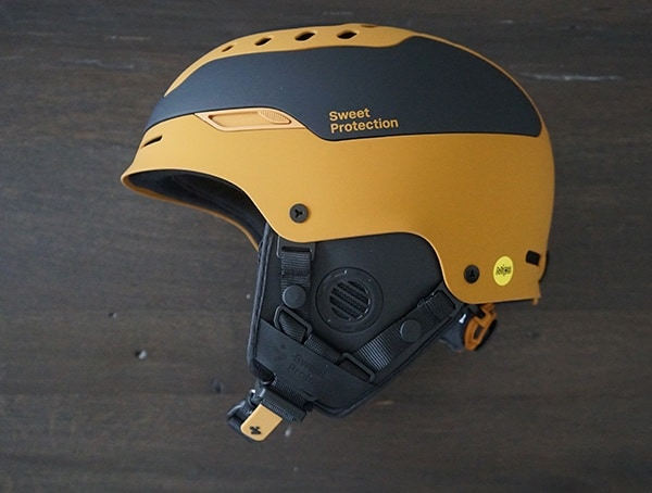 Fist Side View Sweet Protection Switcher Mips Helmet