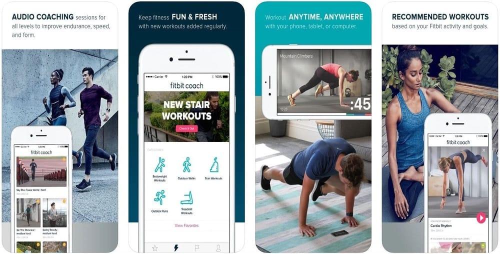 fitbit coach ios app version screenshot