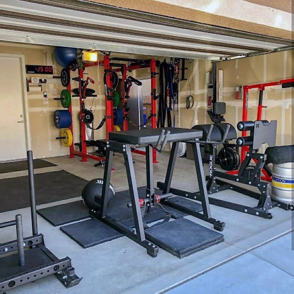 Fitness Equipment Ideas Gym In Garage Of Home