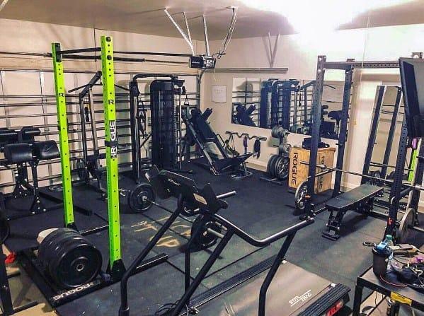 Fitness Machines Garage Gym Ideas