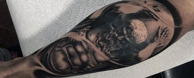 Fitness Tattoos For Men