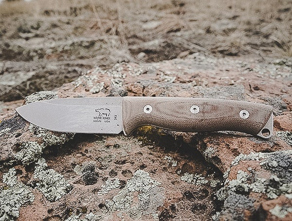 Fixed Blade Survival Bushcraft Knives White River Knife And Tool Ursus 45 Review