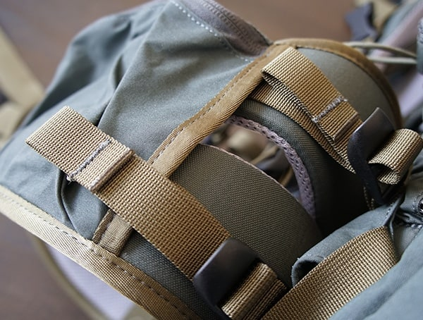 Fjallraven Kajka Backpack Straps On Hip Belt