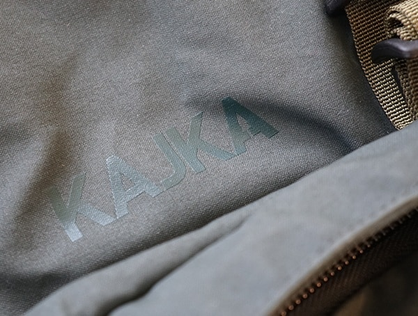 Fjallraven Kajka Detail On Backpack
