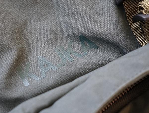 Fjallraven Kajka Detail On Backpack