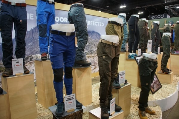 Fjallraven Mens Pants Outdoor Retailer 2018