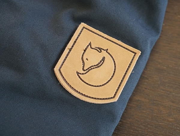 Fjallraven Skogso Padded Jacket Leather Patch On Arm