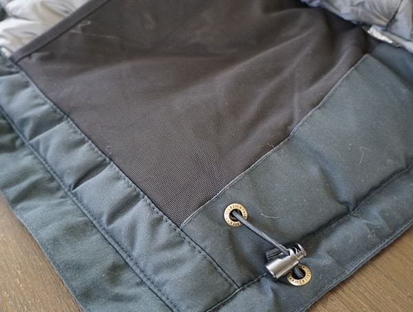 Fjallraven Skogso Padded Jacket Mesh Pockets