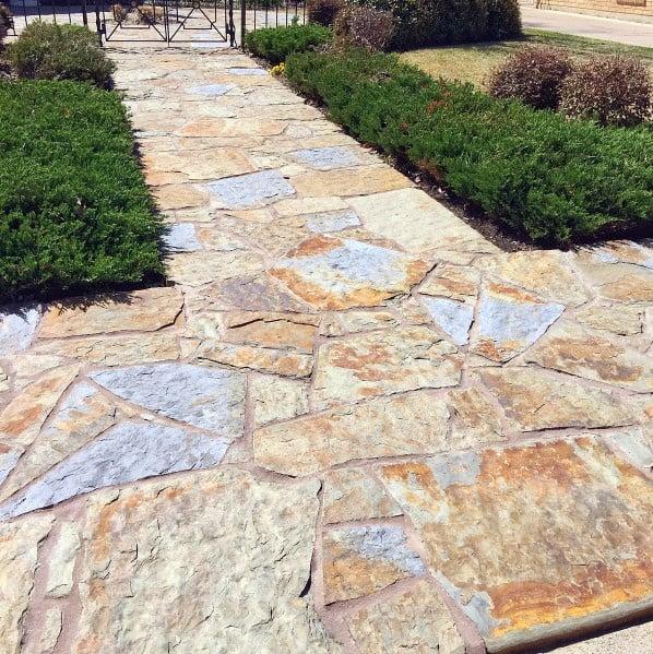 Flagstaff Ideas For Stone Walkway