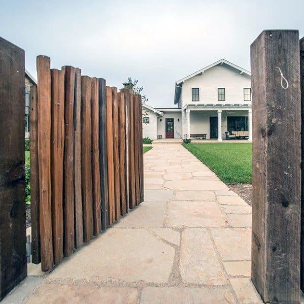 Flagstaff Landscape Front Yard Stone Walkway Ideas