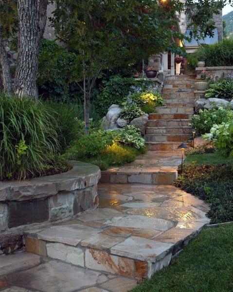 Flagstaff Stone Walkway Design Ideas