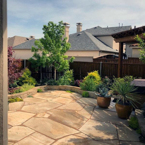 Flagstone Patio Design Inspiration