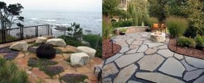 Top 60 Best Flagstone Patio Ideas – Hardscape Designs