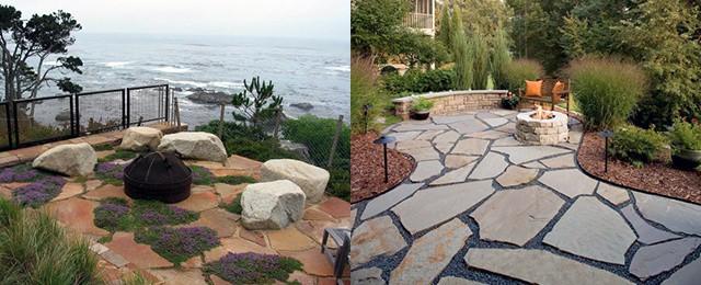 Top 60 Best Flagstone Patio Ideas – Hardscape Designs