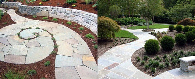 Flagstone Walkway Ideas