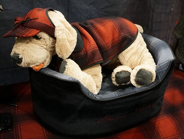 Flannel Dog Display At Outdoor Retailer Winter Market