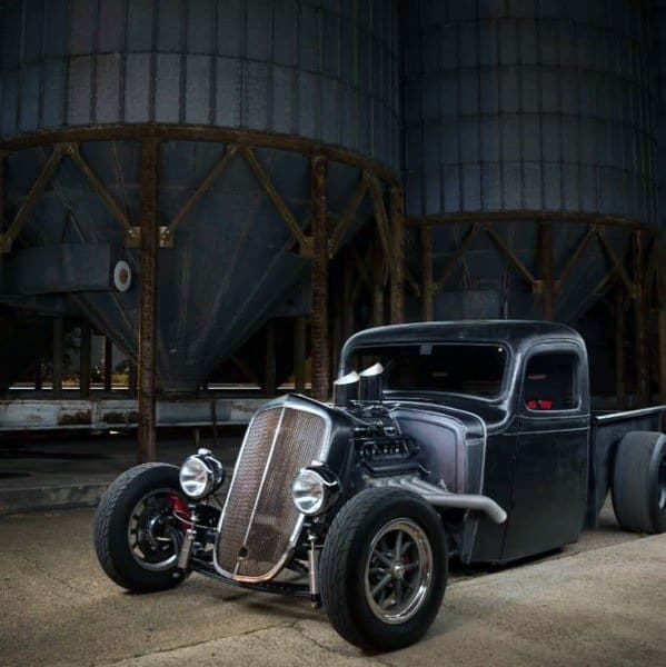 Flat Black Badass Rat Rods Inspiration