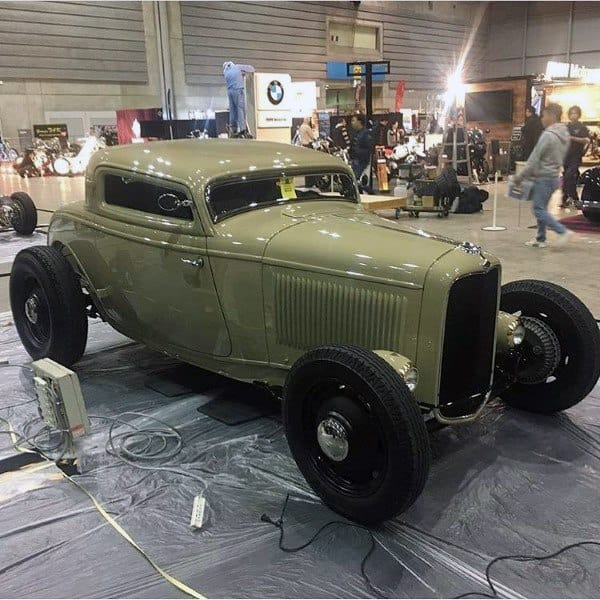 Flat Green Paint Custom Badass Rat Rod Ideas With Black Rims