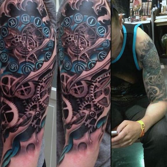 Mechanic tattoo designs - photo#27