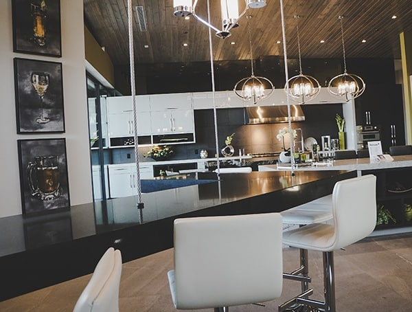 Floating Bar Countertop Las Vegas Nevada 2019 New American Home