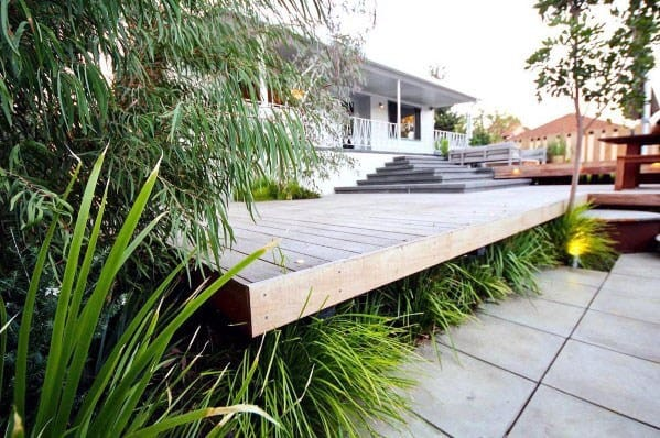 Floating Deck Design Idea Inspiration