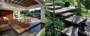 Top 60 Best Floating Deck Ideas – Contemporary Backyard Designs