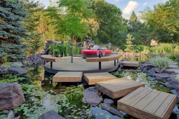 Floating Deck Ideas Inspiration
