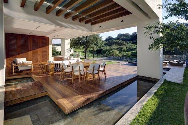 Floating Deck Luxury Home Designs