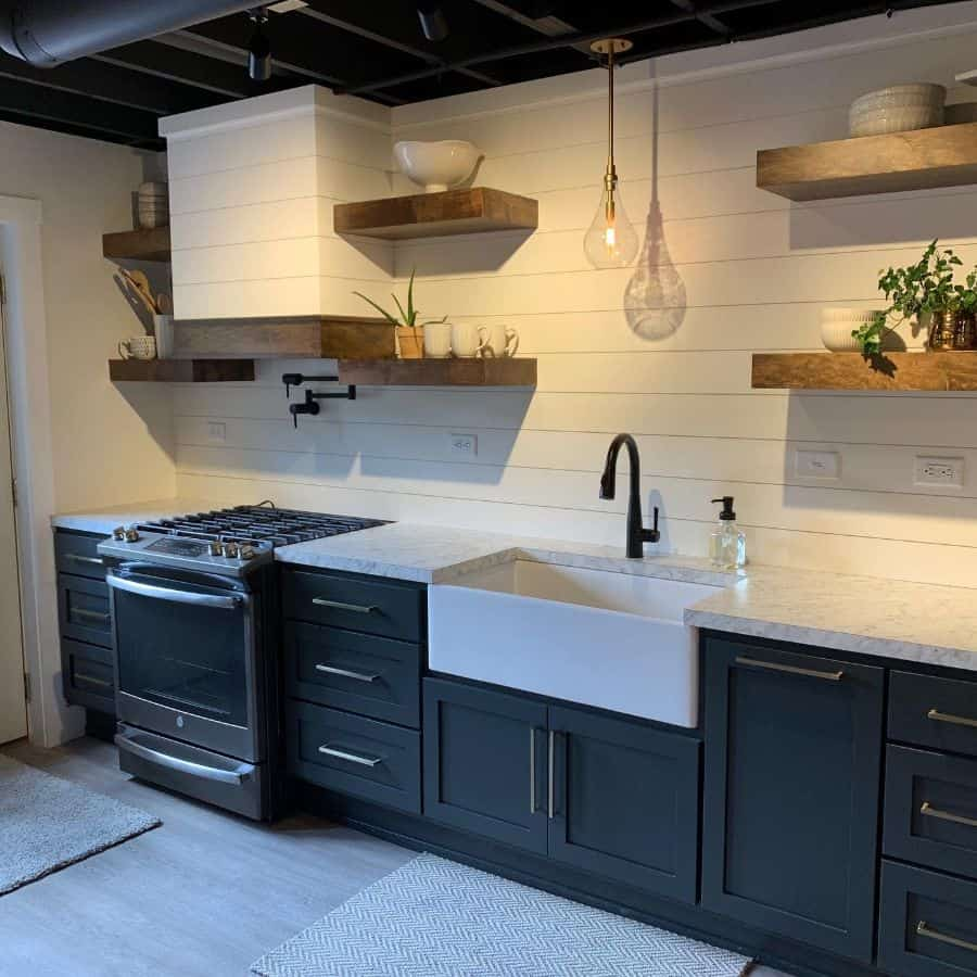 floating kitchen shelving ideas thecarpentershp