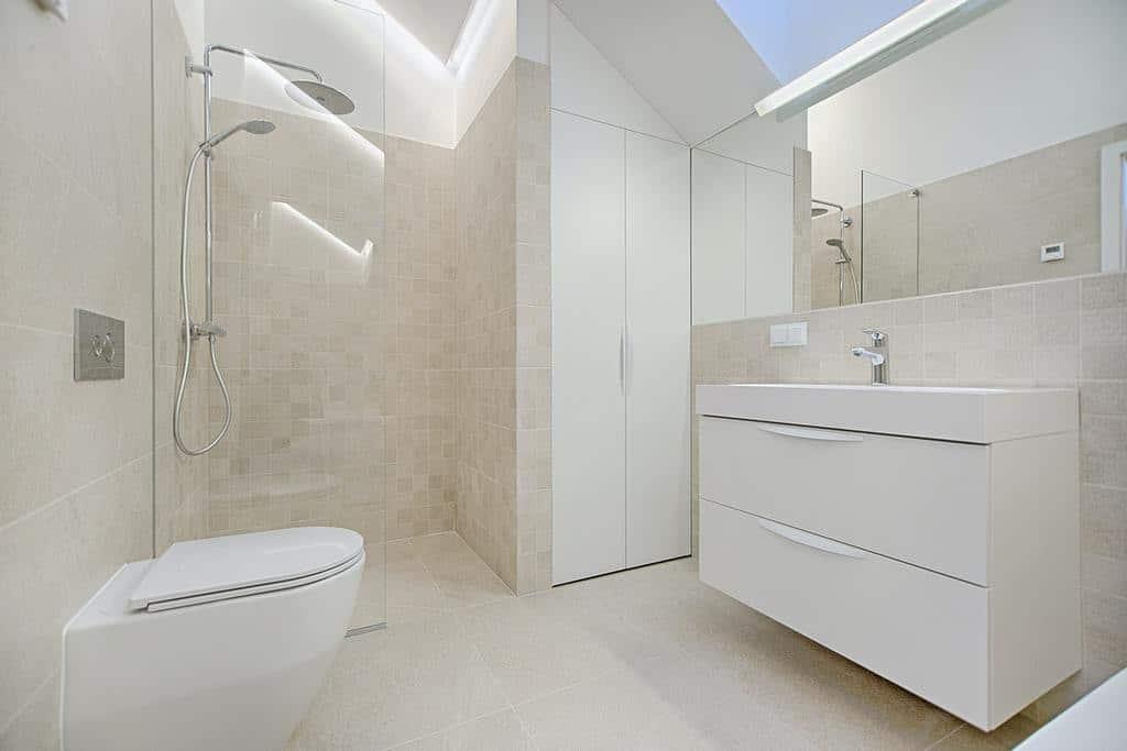 Floating Vanity Bathroom Storage Ideas 1