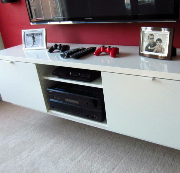 Floating Wall TV Shelf Stand