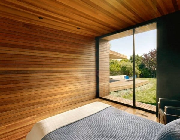 Floor And Ceiling Bamboo Wooden Wall Ideas
