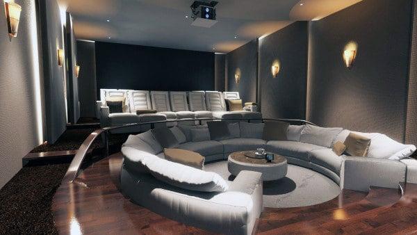 Masculine Home Office Decor Modern