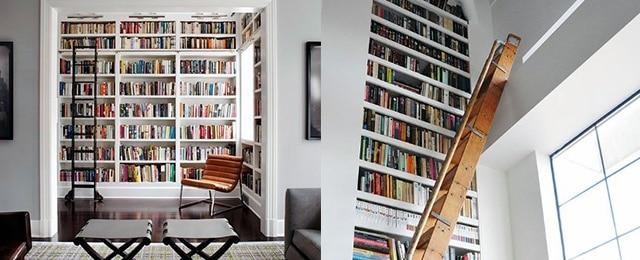 Top 70 Best Floor To Ceiling Bookshelves Ideas – Wall Storage Designs