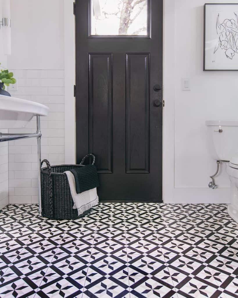 Flooring Ideas Powder Room Ideas 7th House Interiors