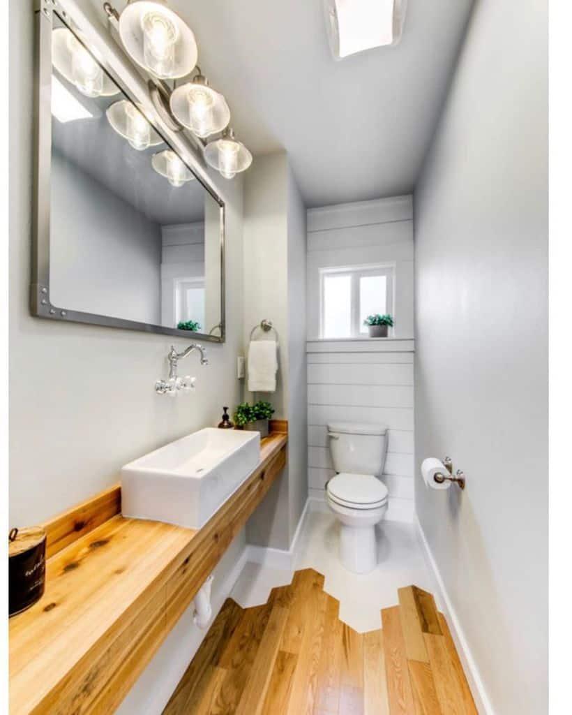 Flooring Ideas Powder Room Ideas Alexmcfeelydesign