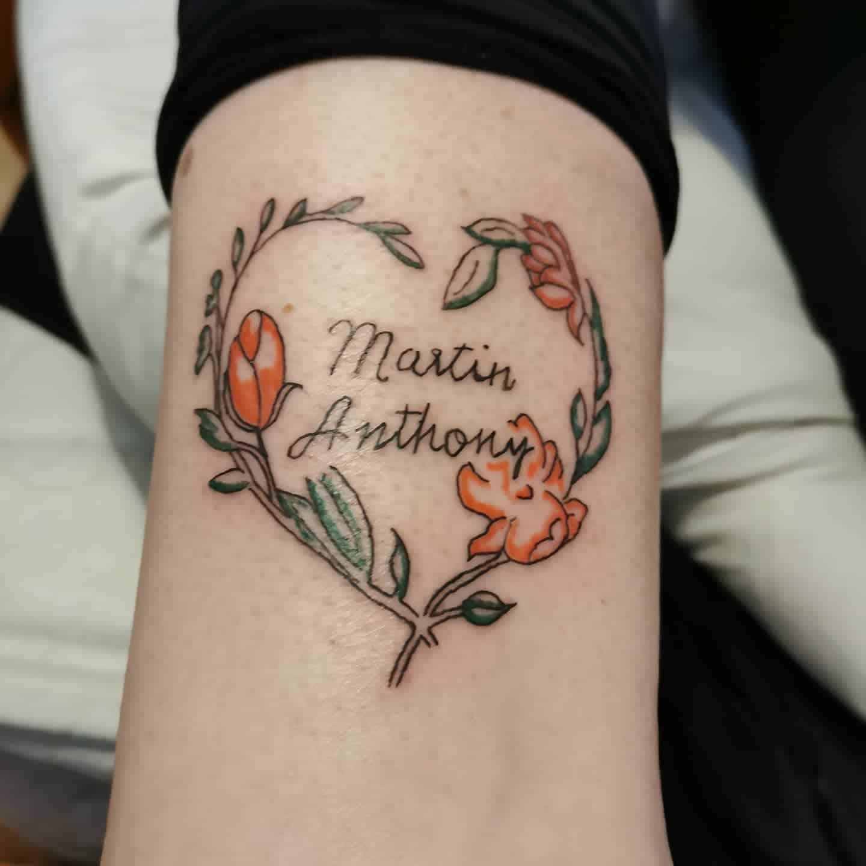 Floral Cute Tattoo Jason Alphatattoos